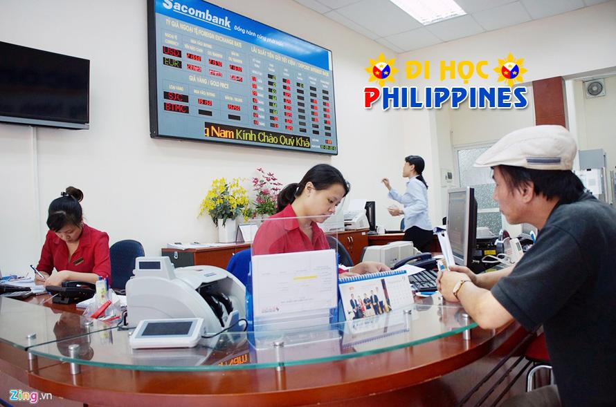 Thanh toán học phí khi du học Philippines