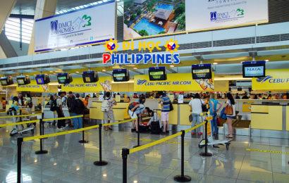 Du học Philippines quy trình Transit ở Manila