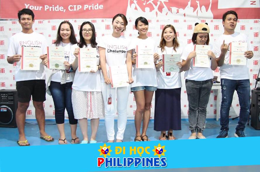Du học Philippines chương trình học IELTS đảm bảo tại Học viện CIP