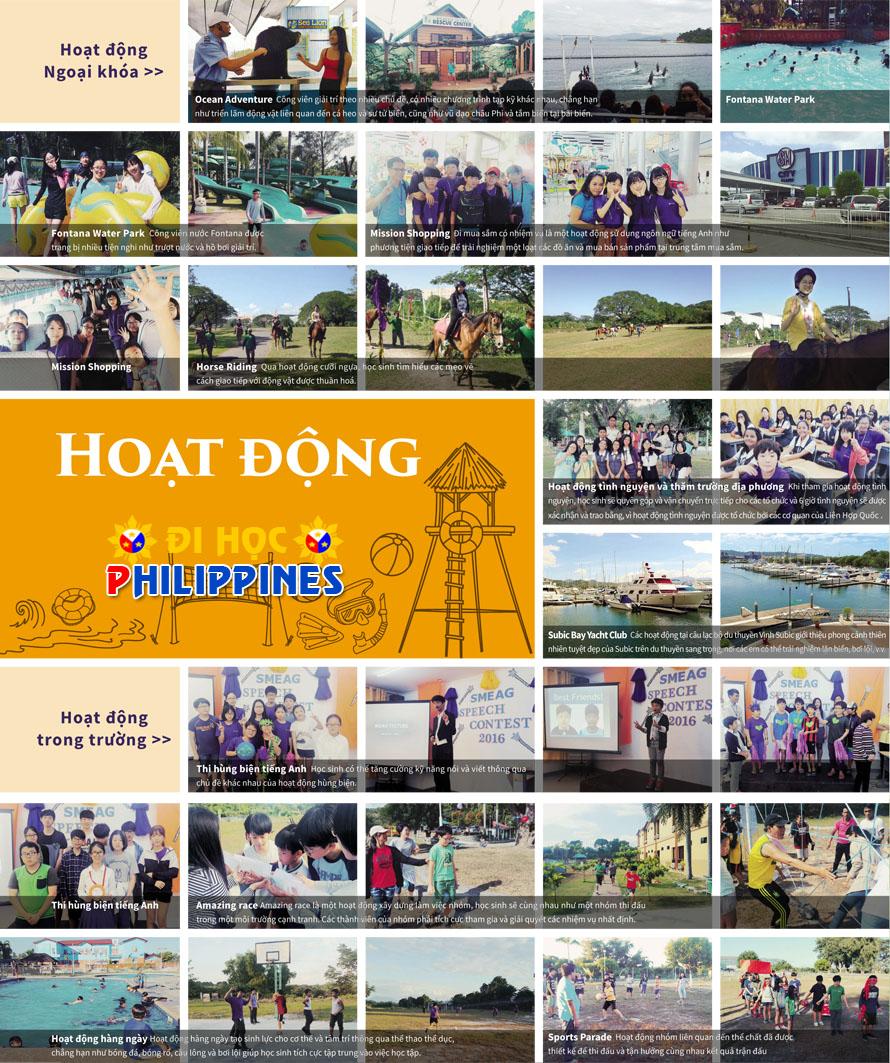 Các hoạt động khi học sinh tham gia trại hè của SMEAG