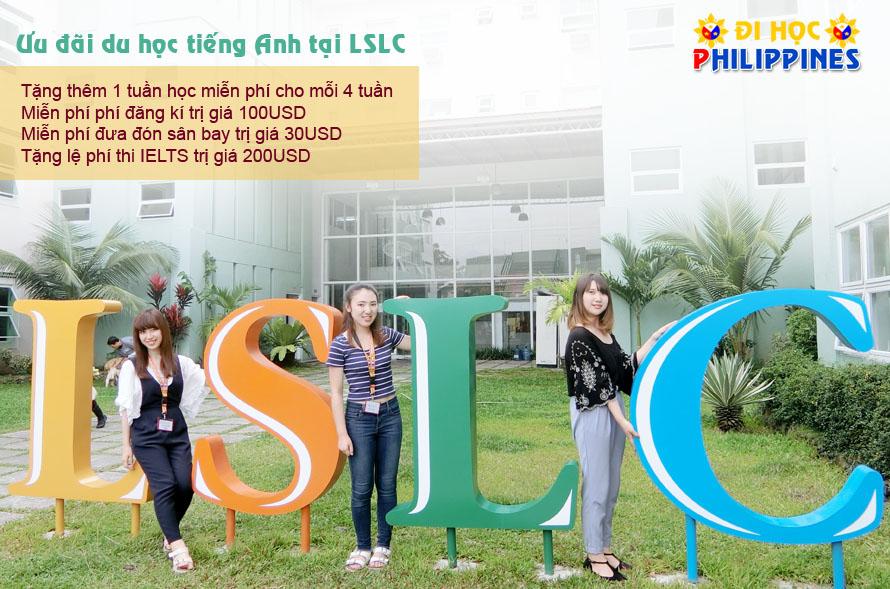 Ưu đãi du học tiếng anh tại trường anh ngữ LSLC Philippines