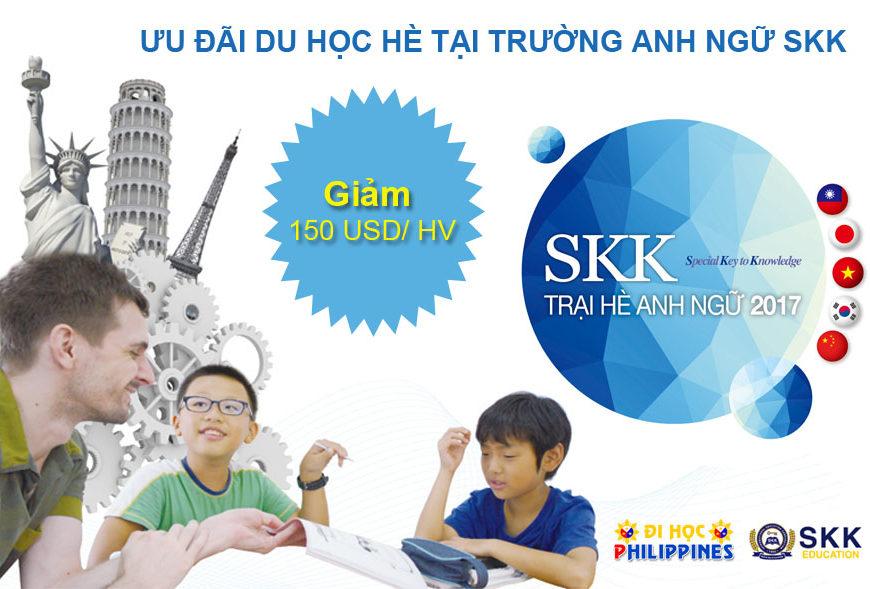 Ưu đãi du học hè Philippines tại trường anh ngữ SKK