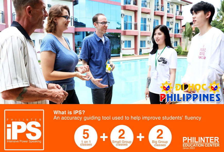 Khóa học Intensive Power Speaking tại trường Anh ngữ Philinter Philippines