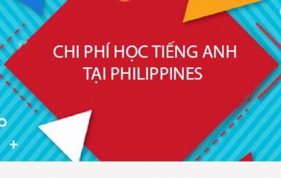 Chi phí tiêu vặt khi chọn  du học Philippines là bao nhiêu?